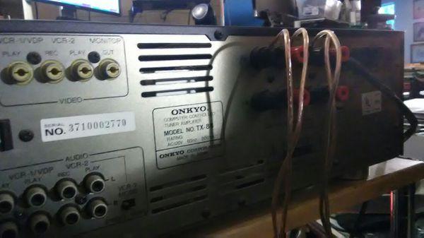 Onkyo integra 160 watts 80's made japan.
