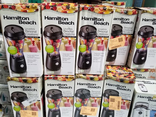 New Open Box Personal Blender Lots of 12 only. We do not sell by the unit.
