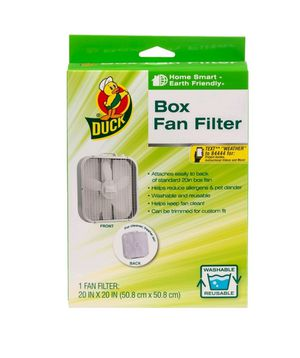 Duck® Brand Box Fan Filter - White, 20 in. x 20 in. for Sale in Rossville, GA