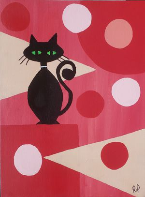"""""""Groovy Cat #3"""" for Sale in Sevierville, TN"""