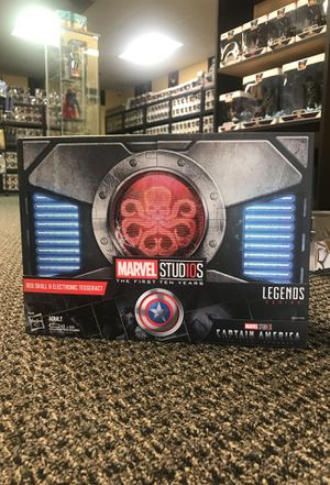 Red Skull & Electronic Tesseract Legends Series for Sale in Agua Dulce, CA