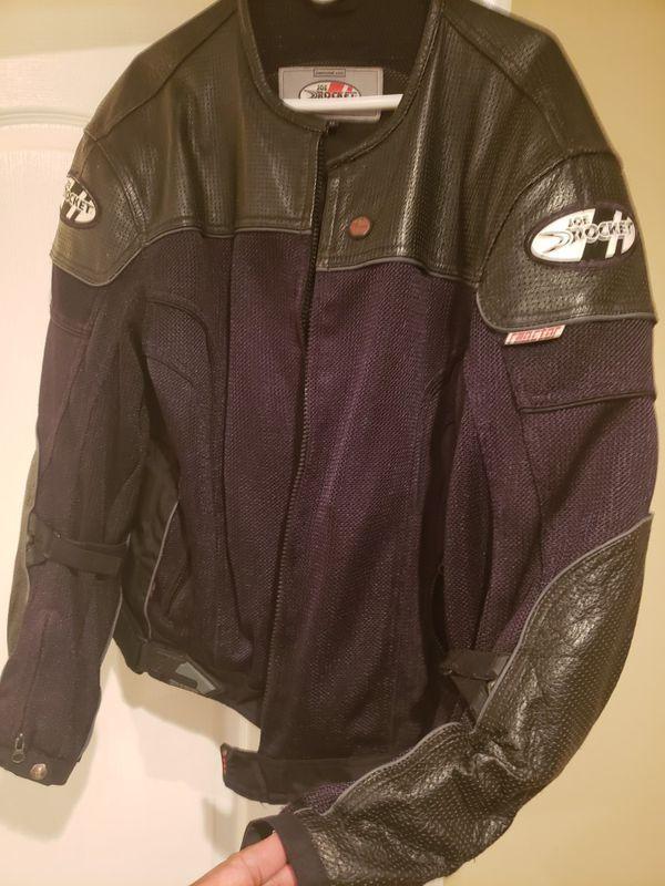 Joe Rocket Leather and Textile Jacket - Size XL