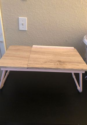 Baby pink mini desk or laptop stand for Sale in Palm Harbor, FL