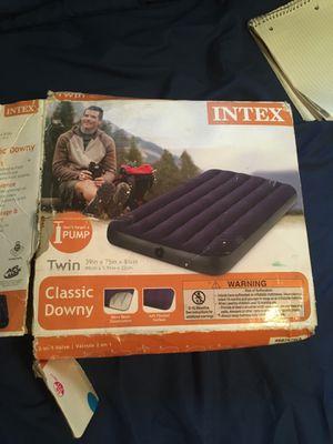 Intex Twin Air Mattress for Sale in Austin, TX