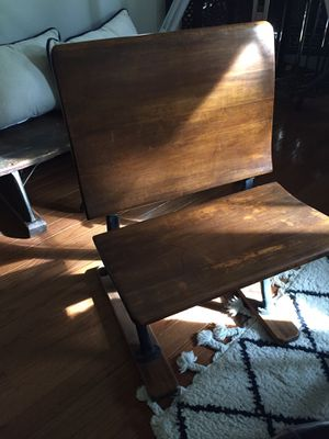 Vintage school house chair for Sale in Reston, VA
