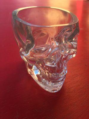 Glass skull ashtray for Sale in Scottsdale, AZ