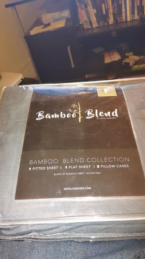 Bamboo sheet set full size for Sale in Bozeman, MT