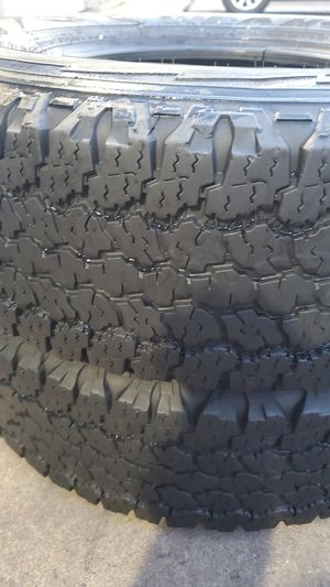 Two very nice GOOD YEAR tires for sale. LT245/75/16 for Sale in Washington, DC