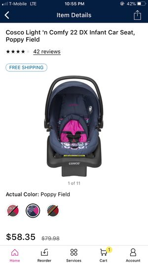 Cosco car seat and stroller both. for Sale in Alexandria, VA