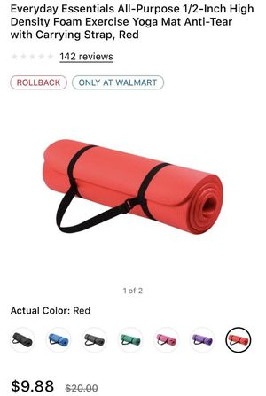 Yoga Mat for Sale in Baltimore, MD