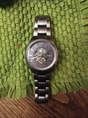 Fossil BQ2268 Flynn Automatic Smoke Stainless for Sale in Fayetteville, GA