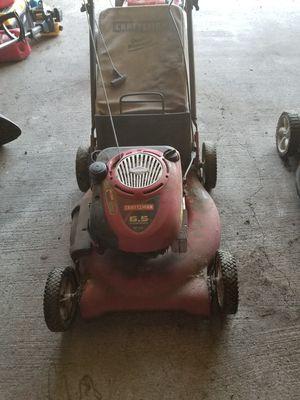 "Craftsman 21"" cut lawn mower for Sale in Seattle, WA"