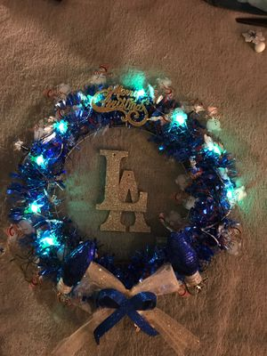 LA Christmas wreaths for Sale in Whittier, CA