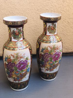 Antique Japanese Vases for Sale in Rancho Cucamonga, CA