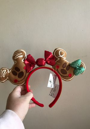 Disneyland gingerbread ears available 4 for Sale in Riverside, CA