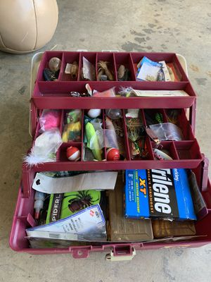 Fully Loaded Tacklebox for Sale in Turlock, CA