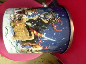 Metal tin w lid for Sale in Glen Burnie, MD