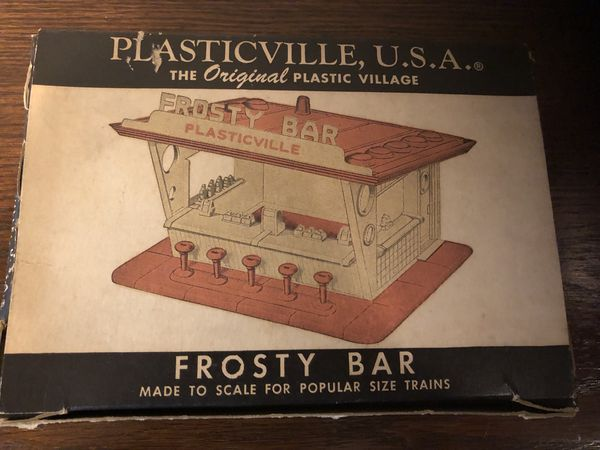 1950s New Plasticville Frosty Bar