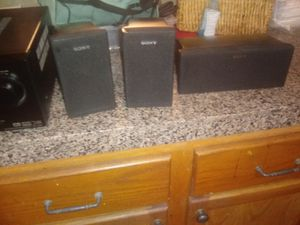Sony receiver n speakers for Sale in Fort Worth, TX