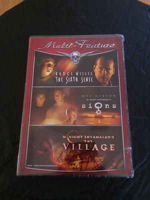 Dvd m night shyamalan bundle for Sale in Surprise, AZ