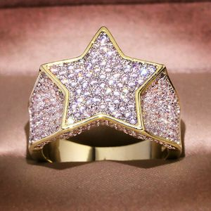 *NEW ARRIVAL* Hip Hop Bling Bling White Sapphire Star Ring SZ 8 - 12 *See My Other 300 Items* for Sale in Palm Beach Gardens, FL