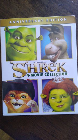 Shrek Blue-Ray disc. Part 1,2,3 and 4 for Sale in San Diego, CA