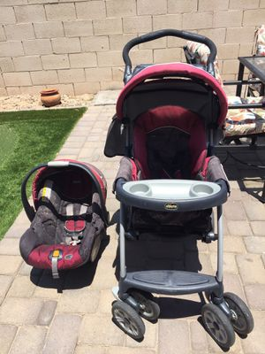Chicco car seat and stroller for Sale in Phoenix, AZ