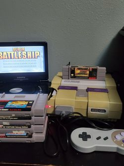 Super Nintendo System! 5 Games & Controller! for Sale in Happy Valley,  OR
