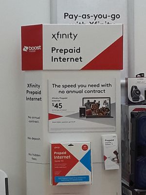 Prepaid Xfinity Internet for Sale in Houston, TX