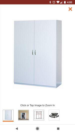 Closet maid wardrobe cabinet for Sale in Hoxeyville, MI