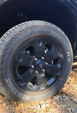 "2019 ford ranger 18"" rims factory black with tires 31's for Sale in City of Industry, CA"