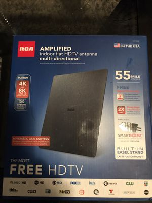 RCA amplified indoor flat HDTV antenna for Sale in Peoria, AZ