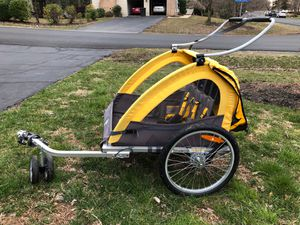 Schwinn bike carrier or trailer for baby or toddler for Sale in Herndon, VA
