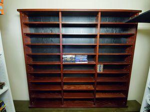 Large media storage shelving unit for Sale in Orlando, FL