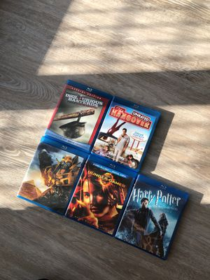 Blu-ray Disc Bundle Set - 6 Movies for Sale in Miami, FL
