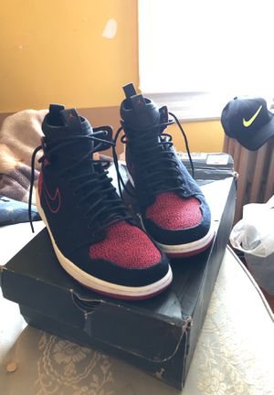 New Jordan 1 new with box red and black for Sale in Schenectady, NY