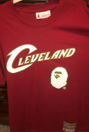 Bape Mitchell & Ness Cavs Hardwood Classic Tee for Sale in McCordsville, IN