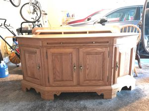 Solid oak China cabinet and buffet for Sale in Saint Paul, MN