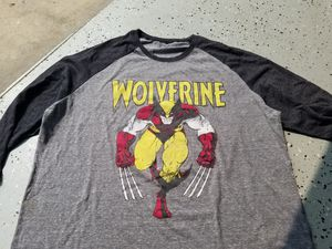 Brown suit Wolverine baseball tee for Sale in Long Beach, CA