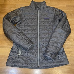 Patagonia Nano Puff Women XS Grey Jacket for Sale in Portland, OR