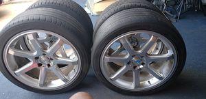 19in Chrome Rims for Sale in Arlington, TX
