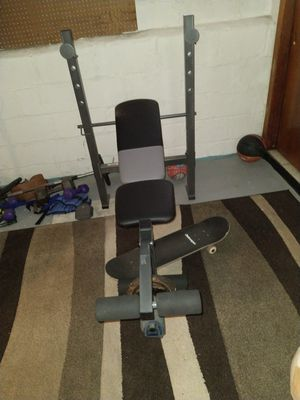 Bench press new never used for Sale in Belleville, NJ