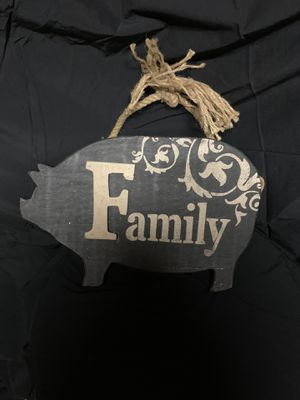 Pig farmhouse Family sign for Sale in Mishawaka, IN