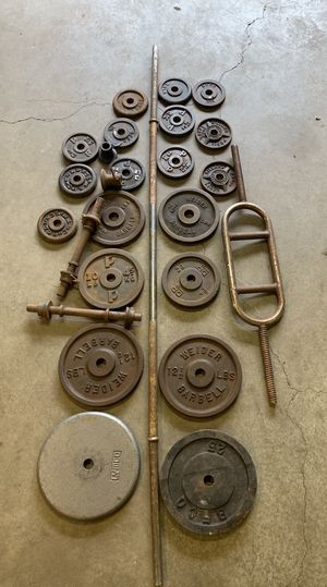 Weights and barbells for Sale in Kent, WA