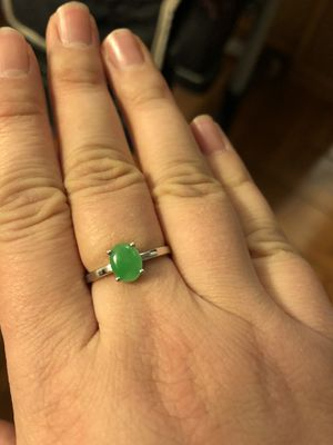 18k Gold jade ring size 7 for Sale in Seattle, WA