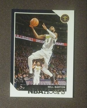 2018-19 Panini Will Barton Denver Nuggets #32 NBA Hoops Basketball Card Collectible Sports for Sale in Salem, OH