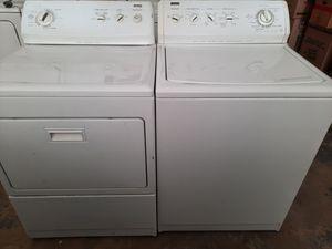 Washer gas dryer kenmore elite set for Sale in Pumpkin Center, CA