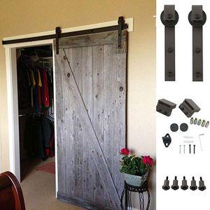 Brand New 6.6 Ft Sliding Barn Door Hardware Kit for Sale in City of Industry, CA