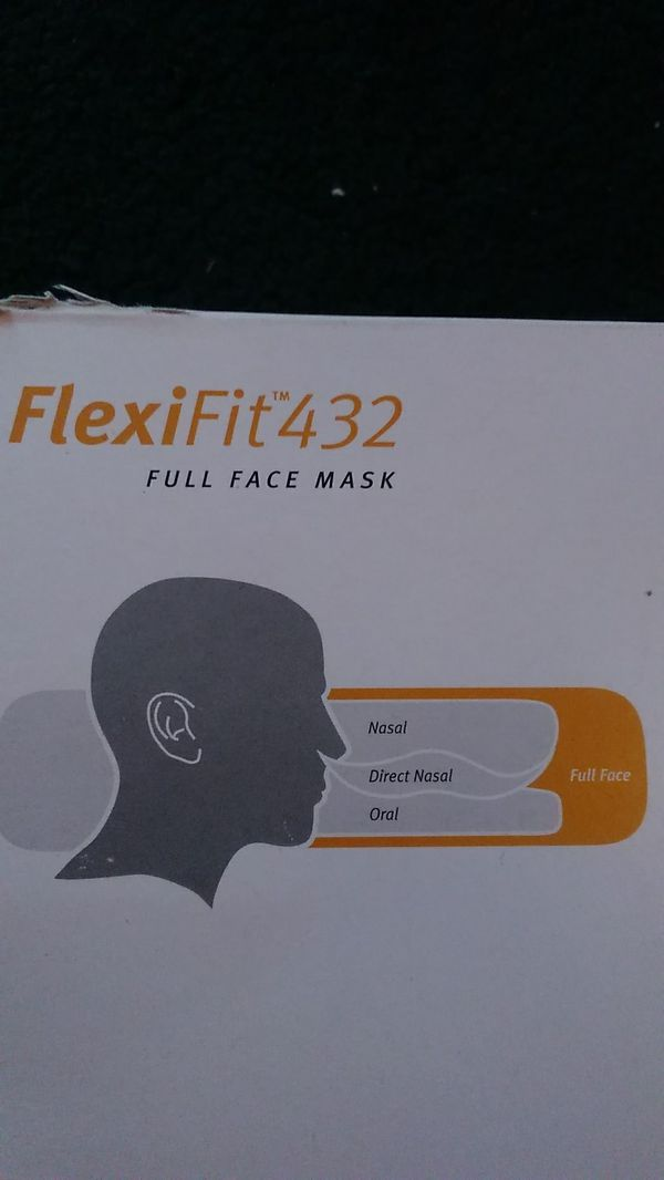 Fisher and paykel flexifit 432 size medium full size face mask unopened item