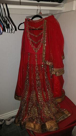 Wedding Saree Sari very expensive Indian Dress for Sale in Moreno Valley, CA